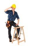 seksowny budowa pracownik Zdjęcia Stock