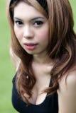 seksowny dziewczyna azjatykci portret Fotografia Stock