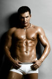Seksowny facet zdjęcia royalty free