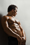 Seksowny mężczyzna zdjęcie stock
