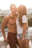 Seksowny mężczyzna i kobieta Fotografia Royalty Free