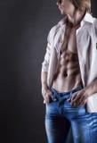 Seksowny mężczyzna Zdjęcie Royalty Free