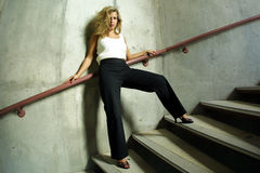 Seksowny moda model Fotografia Stock