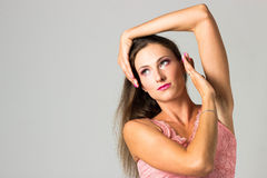 Seksowny piękny kobieta portret _ Zdjęcia Royalty Free