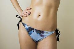 seksowny szczupły żołądek Obraz Royalty Free