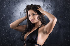 Seksueel meisje Stock Fotografie