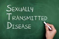 Seksueel - overgebrachte Ziekte Royalty-vrije Stock Afbeeldingen