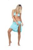 Seksuele vrouw in bikini Royalty-vrije Stock Fotografie