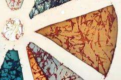 Sektor, Fragment, heißer Batik, Hintergrundbeschaffenheit stockbilder