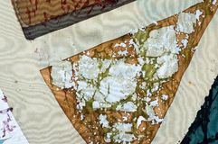 Sektor, Fragment, hei?er Batik, Hintergrundbeschaffenheit stockfoto