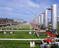 sektor gazowy Obrazy Royalty Free