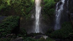 Sekumpul Waterfall in Bali, Indonesia stock video