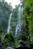 Sekumpul Waterfalls in Bali Royalty Free Stock Photos
