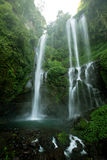 Sekumpul Waterfalls in Bali Royalty Free Stock Image