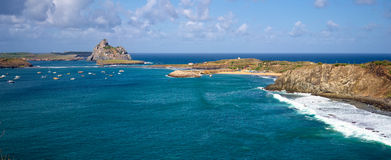 Sekundärinseln von Fernando de Noronha Archipelago, Brasilien Lizenzfreie Stockbilder