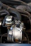 Sekventiell gasinjektion för bil Arkivbild