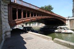 sekwana mostu Obrazy Royalty Free