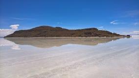 Sel d'Uyuni plat - la Bolivie Photos stock