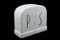 Sel de Deco et dispositifs trembleurs de Peppr Image stock