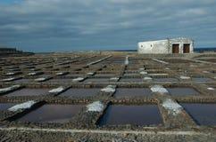 Sel de mer à Fuerteventura, Îles Canaries, Espagne Photographie stock libre de droits