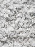 Sel naturel avec de grands cristaux en gros plan Photographie stock libre de droits
