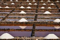 Tas de sel de mer Image libre de droits