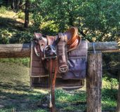 Sela da equitação Imagem de Stock