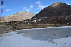 Sela Lake, Kameng occidental Photographie stock libre de droits