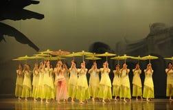 Selaginellamoellendorfii de hieron-tweede handeling van de gebeurtenissen van dans drama-Shawan van het verleden Royalty-vrije Stock Foto
