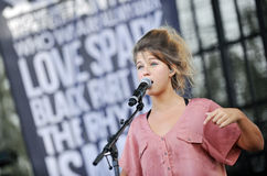 Selah Sue Royalty Free Stock Photography
