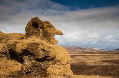 Selalda,冰岛 免版税库存图片
