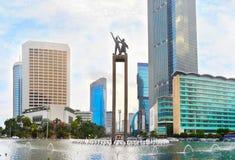 Selamat Datang Monument. Jakarta, Indonesia Royalty Free Stock Photos