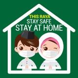 Selamat Hari Raya aidilfitri and please stay at home