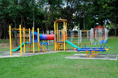 Υπαίθρια παιδική χαρά παιδιών σε Selangor, Μαλαισία Στοκ Εικόνες