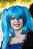 SELARGIUS, ΙΤΑΛΙΑ - 19 ΟΚΤΩΒΡΊΟΥ 2014: Ο κήπος Cosplay - 2$α έκδοση - Σαρδηνία Στοκ εικόνα με δικαίωμα ελεύθερης χρήσης