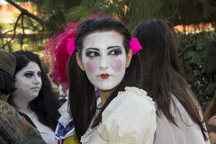 SELARGIUS, ИТАЛИЯ - 29-ое июня 2014: Заколдованный сад в Cosplay - Сардинии Стоковые Изображения