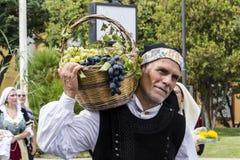 SELARGIUS, ИТАЛИЯ - 13-ое сентября 2015: Бывшее замужество Selargino - Сардиния Стоковая Фотография