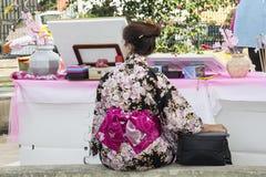 SELARGIUS, ITÁLIA - 29 de junho de 2014: O jardim encantado em Cosplay - Sardinia Imagem de Stock
