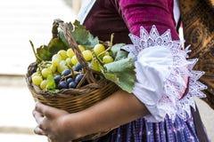 SELARGIUS, ITALIË - SEPTEMBER 14, 2014: Oud Huwelijk Selargino - Sardinige Royalty-vrije Stock Foto