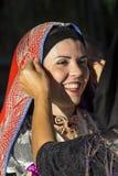 SELARGIUS, ITALIË - September 14, 2014: Vroeger huwelijk Selargino - Sardinige Stock Foto
