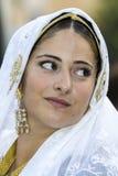 SELARGIUS, ITALIA - 13 settembre 2015: Precedente matrimonio Selargino - Sardegna Fotografia Stock