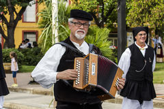 SELARGIUS, ITALIE - 13 SEPTEMBRE 2015 : Mariage antique Selargino - Sardaigne Photos stock
