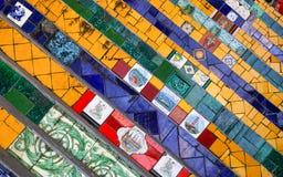 The Selaron Steps Royalty Free Stock Image