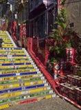 Selaron Steps In Rio Stock Photo