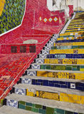 Selaron Steps in Rio Royalty Free Stock Images