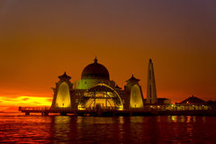 Selat mosque Stock Photos