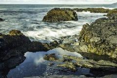 Selatangar södra Island Royaltyfri Foto