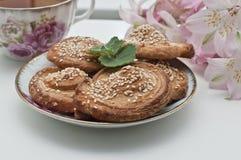 Selbst gemachte Bäckerei Lizenzfreies Stockfoto