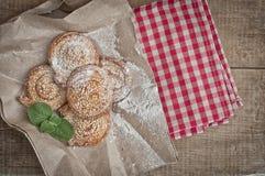Selbst gemachte Bäckerei Stockfoto