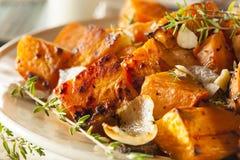 Selbst gemachte gekochte Süßkartoffel Stockbild